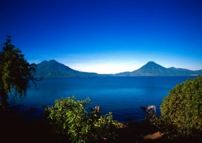 Volcanoes around Lake Atitlan - Panajachel - Guatemala, Central America