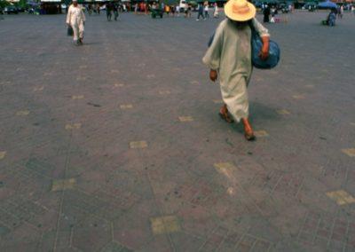 Walking - Djemaa El Fna - Marrakech, Morocco