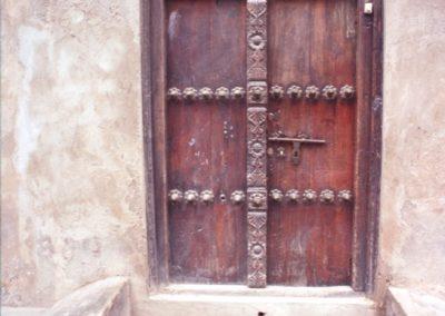 Wooden door - Stone Town -  Zanzibar, Tanzania
