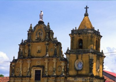 Yellow Church - Leon - Nicaragua, Central America