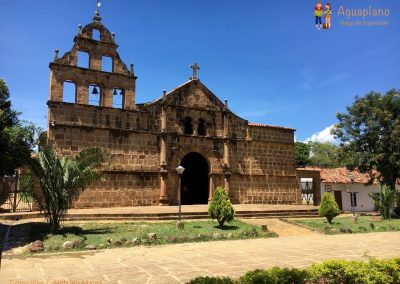 Church - Camino Real - Guane, Colombia