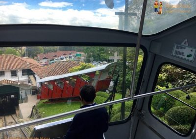 Down with Funicular - Monserrate - Bogotà, Colombia