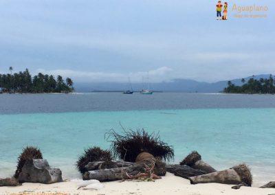 From the beach - San Blas Islands, Panama