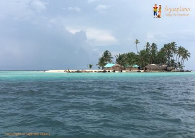 From the boat - San Blas Islands, Panama