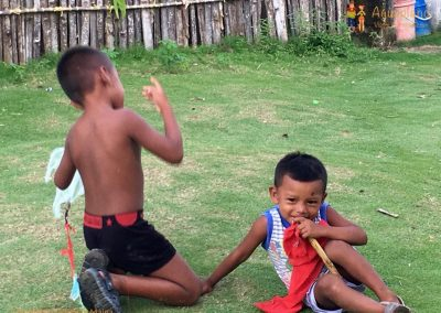 Kuna's children 1 - San Blas Islands, Panama