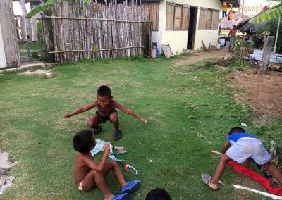 Kuna's children 2 - San Blas Islands, Panama