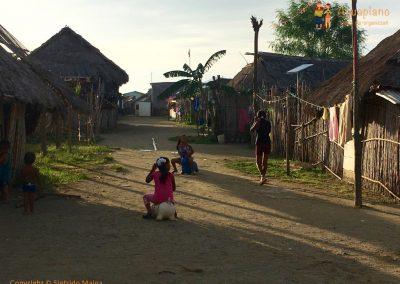 Kuna's village 3 - San Blas Islands, Panama