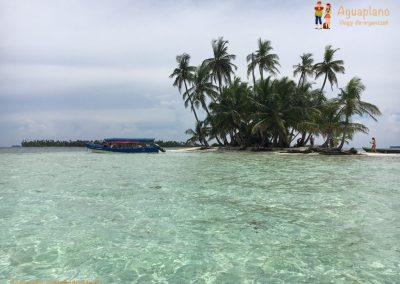 Our boat - San Blas Islands, Panama