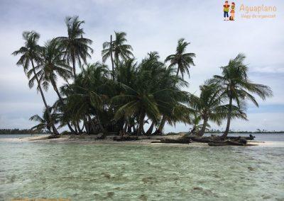 Paradise in San Blas Islands, Panama