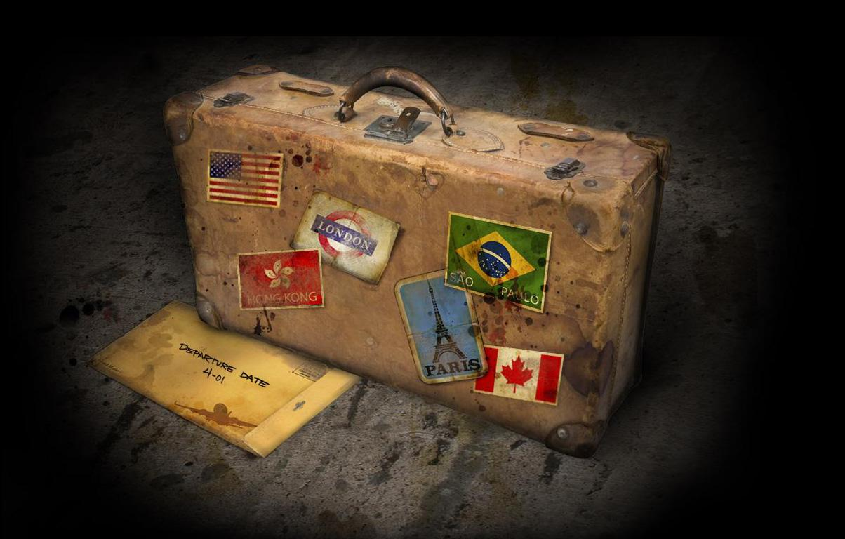 suitcase - Before Leaving