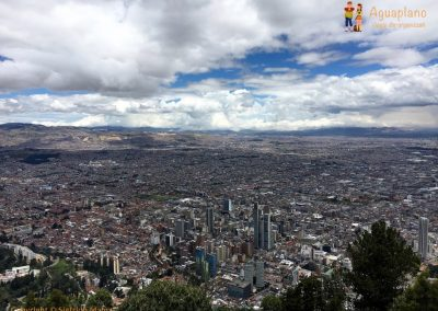 View of Bogotà - Monserrate, Colombia