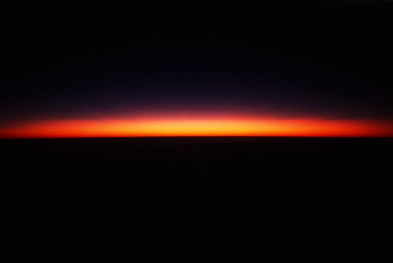 Dawn from the top of Kilimanjaro, Tanzania