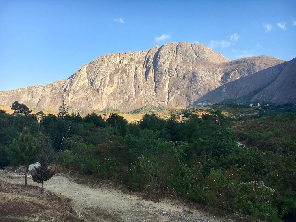 Chombe Peak 2800m Mulanje Malawi - Trekking in Malawi - The Mulanje Mountains