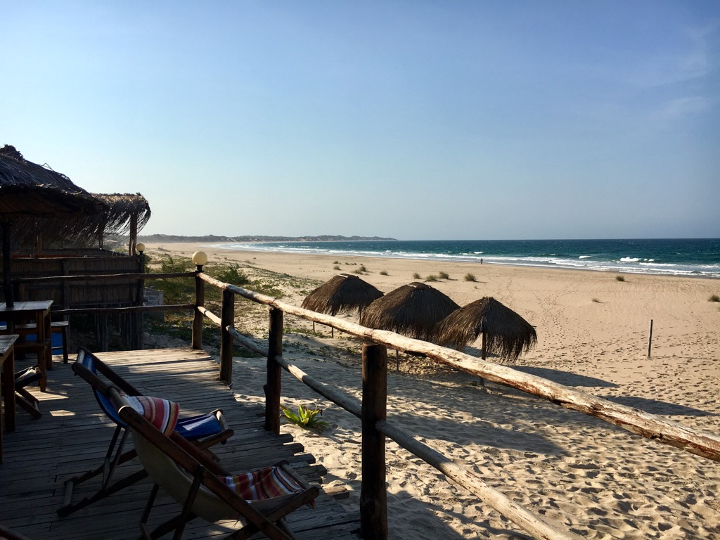 Fatimas Nest Tofo Mozambique - Tofo and Vilanculos, The beaches of Mozambique
