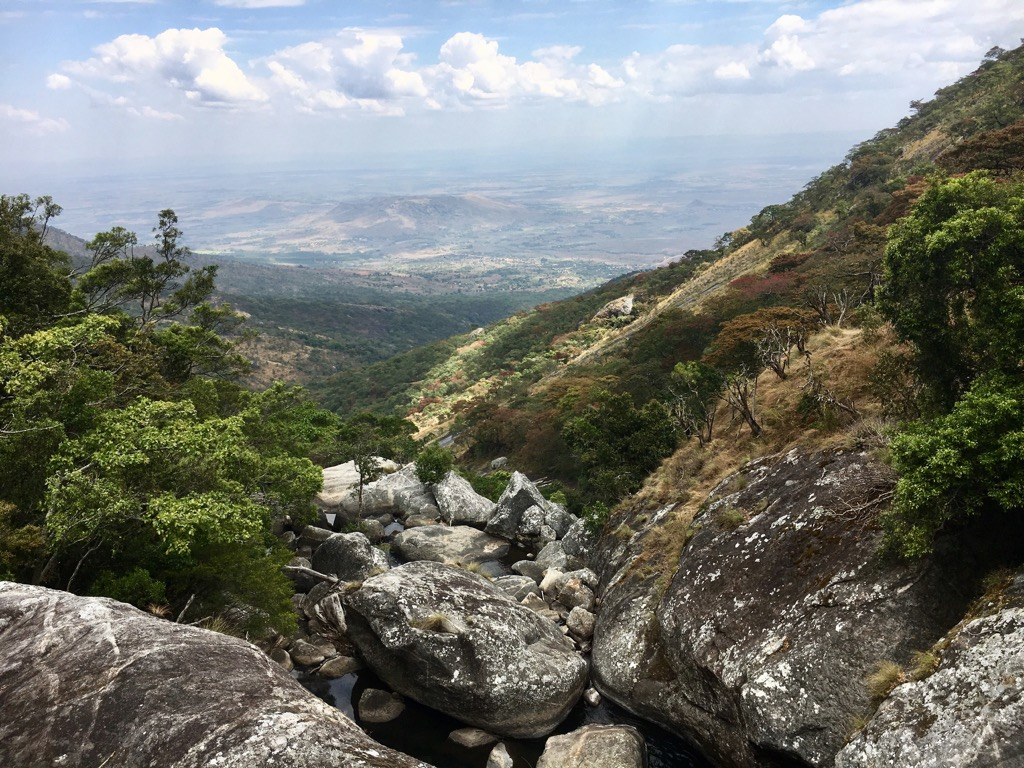 View from Mulanje Mountain Malawi - Trekking in Malawi - The Mulanje Mountains