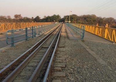 Border between Zambia and Zimbabwe