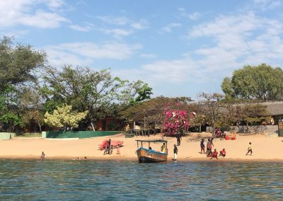 Cape Mc Clear beach from Lake Malawi