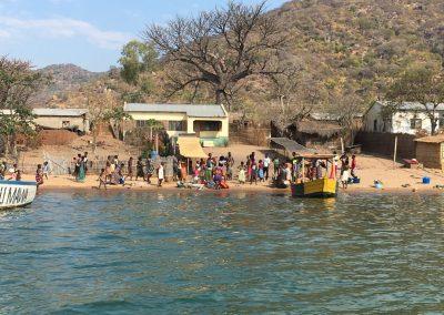 Cape Mc Clear village - Lake Malawi