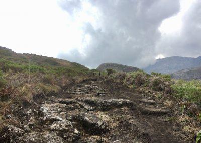 Clouds during trekking on Mount Mulanje - Malawi