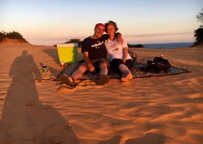First anniversary of marriage - Red dunes - VIlanculo - Mozambique