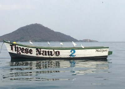 Fishing boat - Lake Malawi