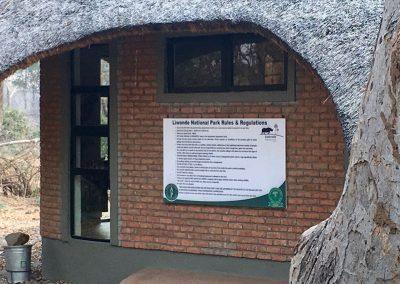 Gate - Liwonde National Park -