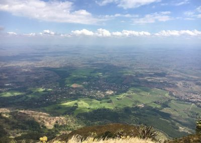 Landscape from Mount Mulanje - Malawi