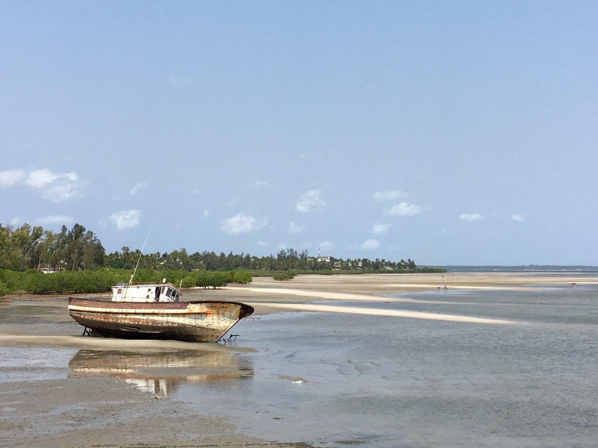 Low tide Inhambane Mozambique - Zambia Malawi Mozambico 2018