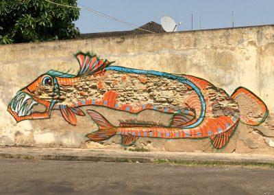 Murales in Inhambane - Mozambique