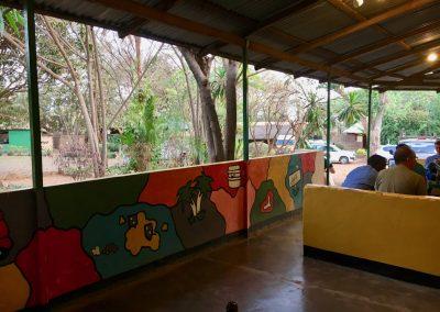 Our hostal in Lilongwe - Malawi