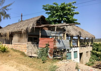 Restaurant in Tofo - Mozambique