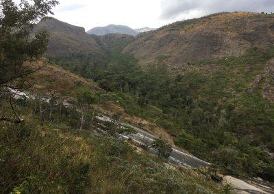 River and mountains - trekking on Mount Mulanje - Malawi