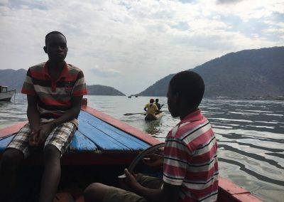 Sailing Lake Malawi