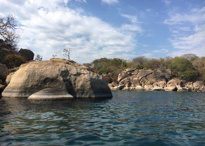 Sailing around Lake Malawi