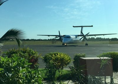 Starting from Vilanculo Airport - Mozambique