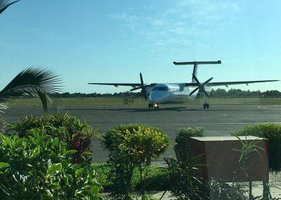 Starting from Inhambane Airport - Mozambique