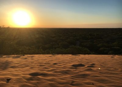 Sunset at Red dunes - Vilanculo - Mozambique