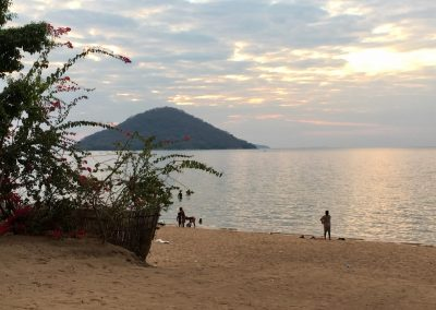 Sunset on Lake Malawi