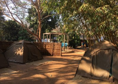 Tent camp in Lilongwe - Malawi