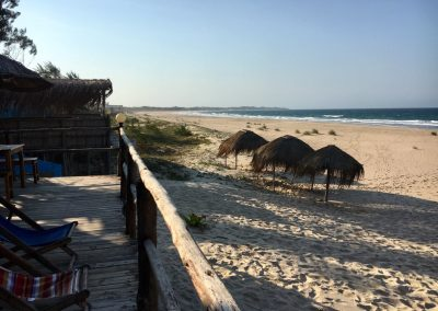 Tofo Beach at sunset - Mozambique