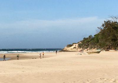 Tofo - big sand beach - Mozambique