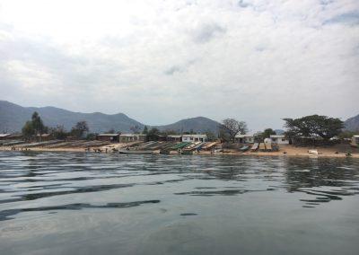 Village on Lake Malawi