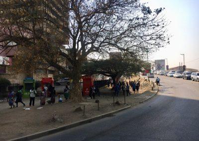 Walking around Lusaka