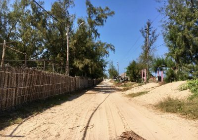 Walking around Tofo - Mozambique