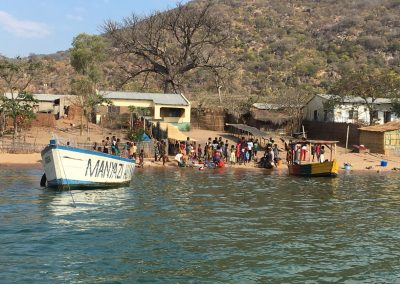 Working day in Cape Mc Clear - Lake Malawi