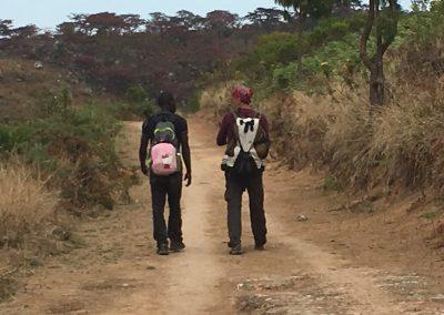 guide - trekking on Mount Mulanje - Malawi