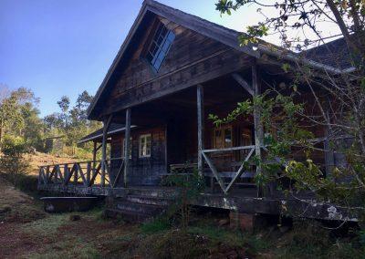our hut during trekking on Mount Mulanje - Malawi