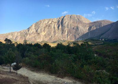 sunrise - trekking on Mount Mulanje - Malawi