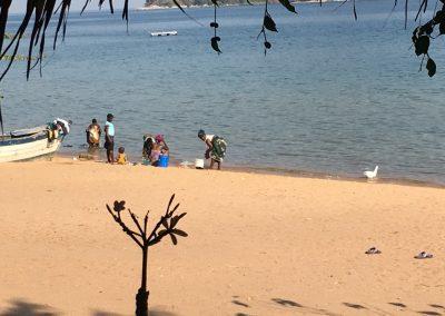 women at work - Cape Mc Clear - Lake Malawi