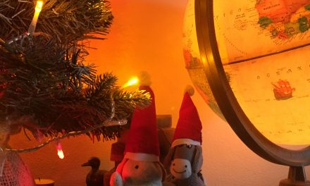 Merry Xmas from the Donkey and the Rabbit!